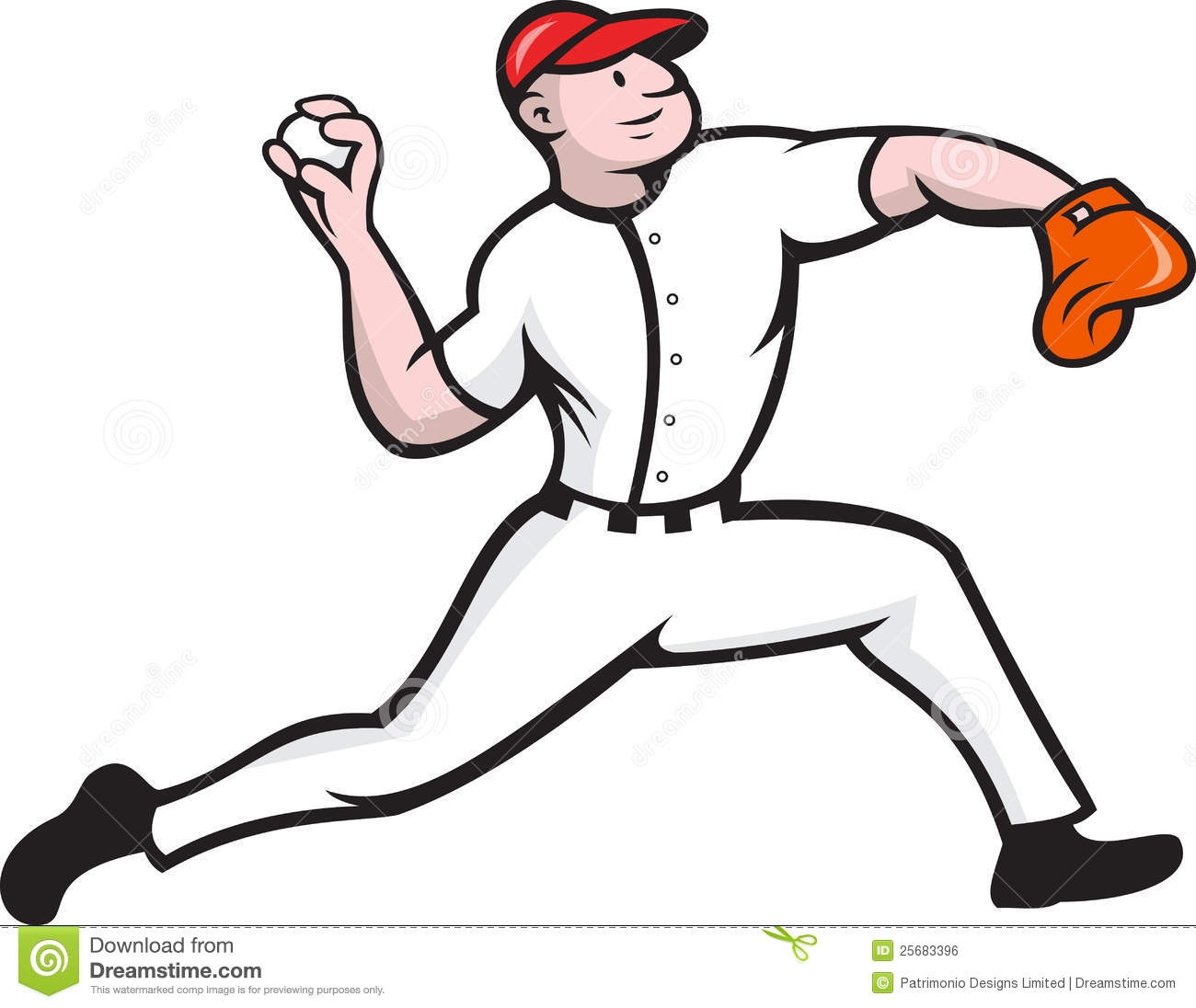 Baseball Pitcher Clipart No Background. 12435798-throwing-baseball- .