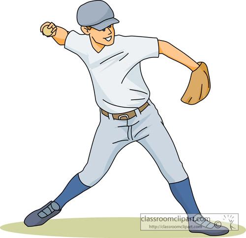 Baseball Pitcher Clipart Base