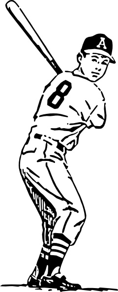 Baseball Player clip art-Baseball Player clip art-19