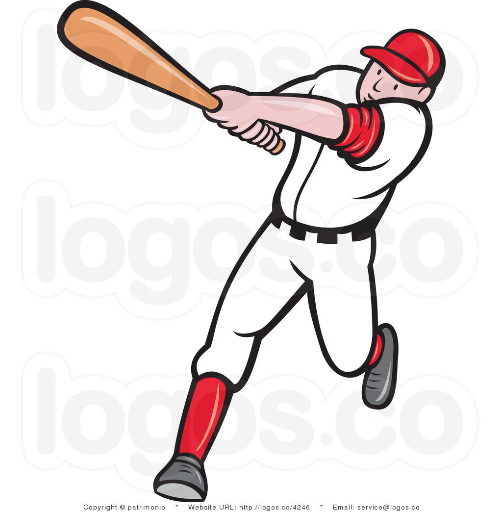 baseball player clipart-baseball player clipart-18