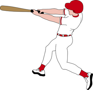 Baseball player clipart tumundografico 3