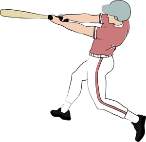 Baseball player images clip art clipartall