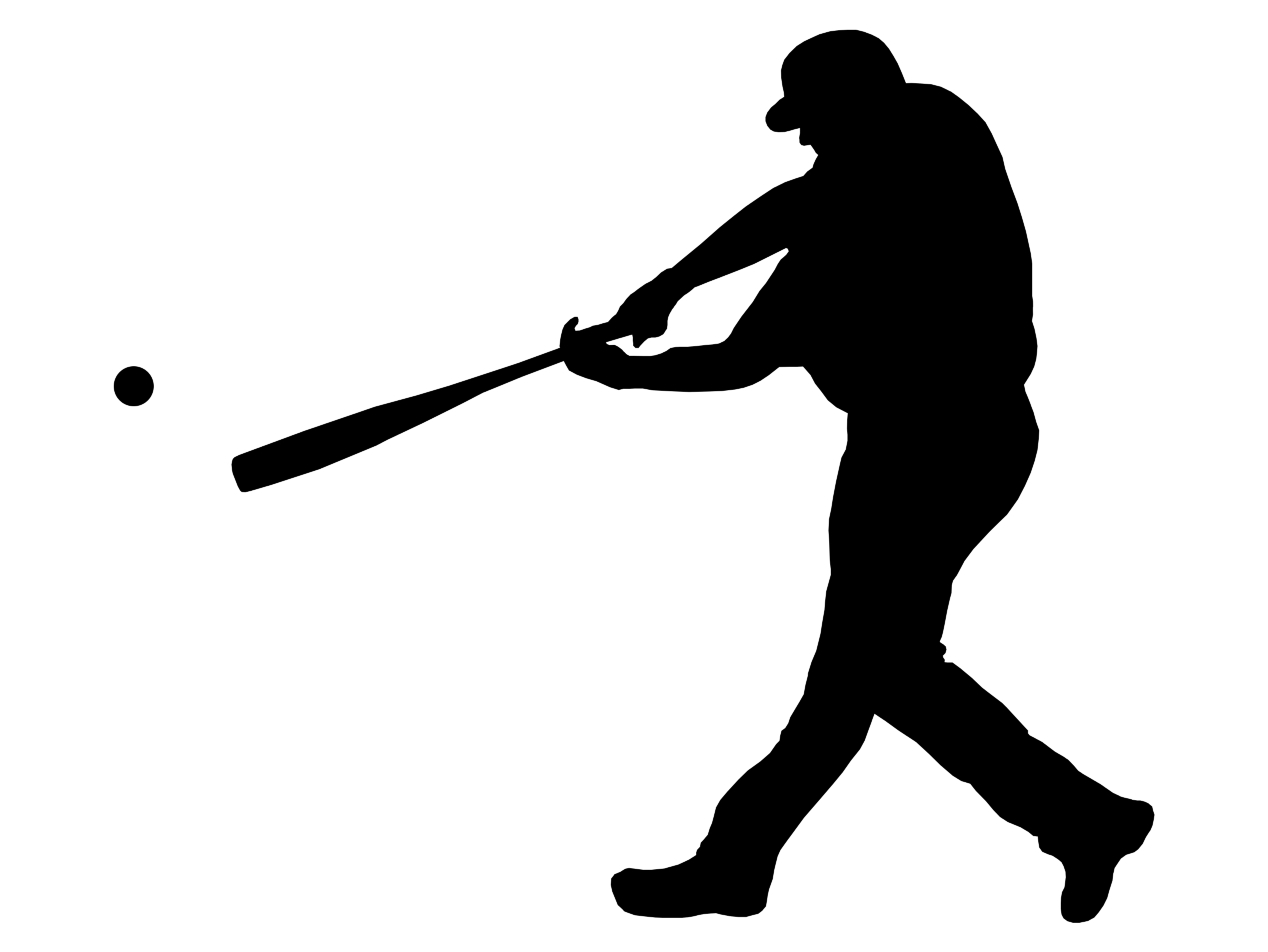 Baseball Player Running .