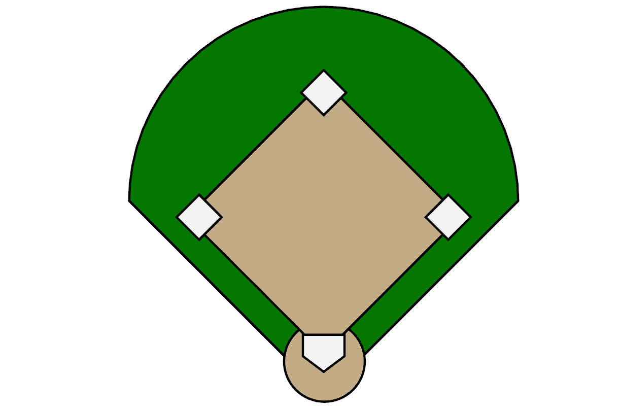 Baseball Stadium Clipart .