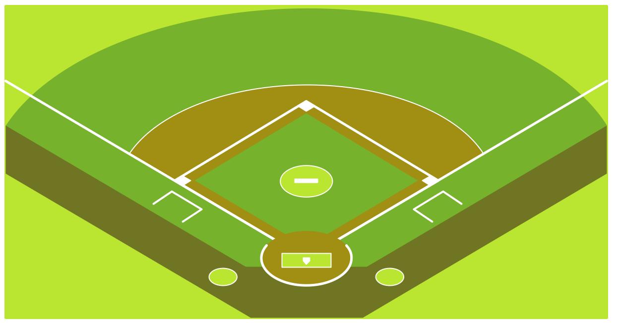 Baseball Stadium Clipart Hd Baseball Solution Conceptdraw Wallpaper Hd