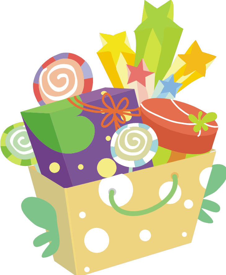 Basket Auction Clipart