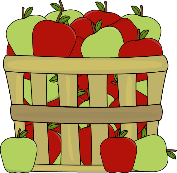Basket Of Red And Green Apples-Basket of Red and Green Apples-9