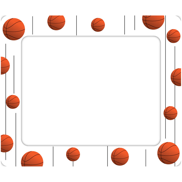 basketball borders and frames