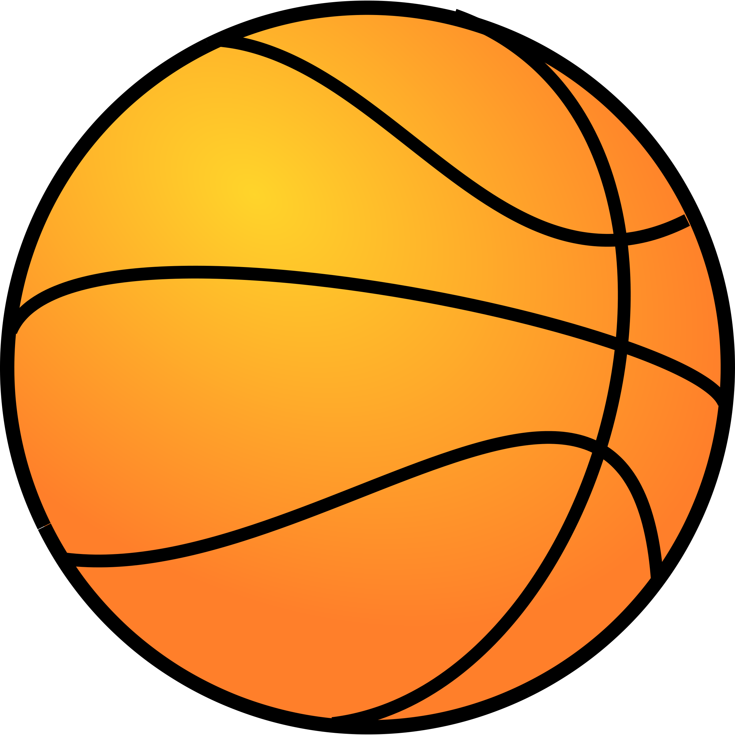 Basketball Clipart-basketball clipart-3