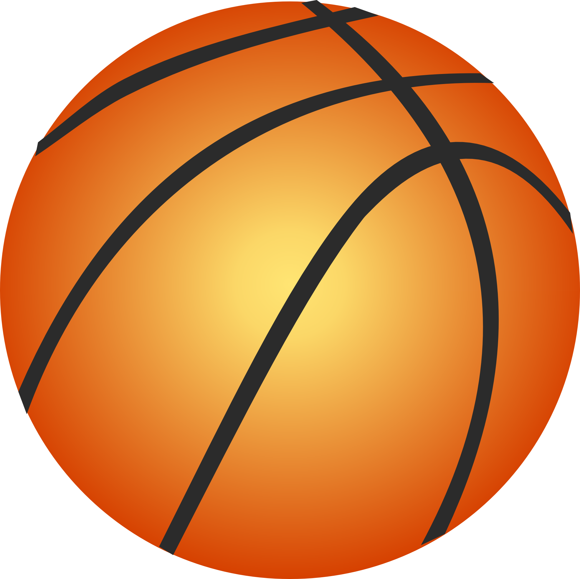 Basketball Court Clipart Black And White-basketball court clipart black and white-1