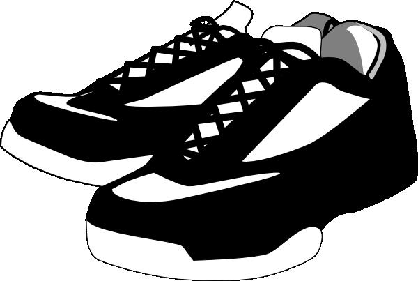 Tennis Shoes Clipart