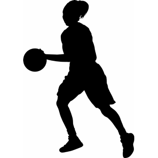 Basketball Player Clip Art - Basketball Player Clip Art