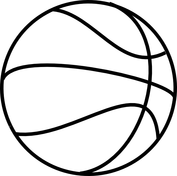 Basketball clip art black vergilis clipart