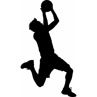 Basketball Player Dunking Cli