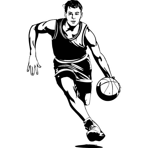 Basketball clip art free basketball clipart to use for party 5