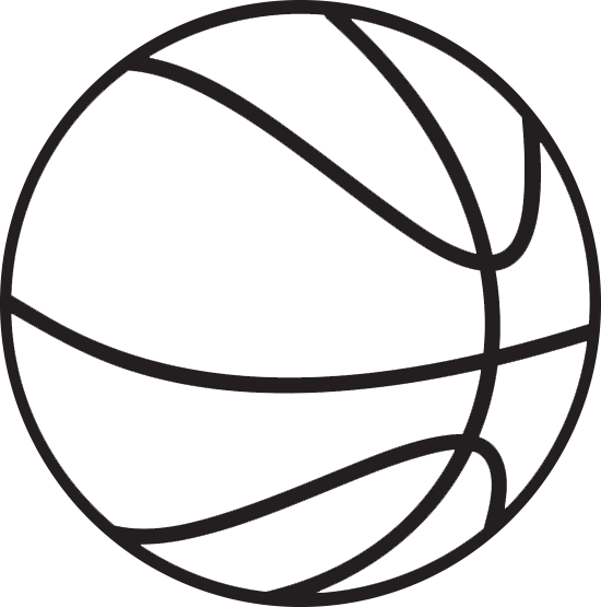 Basketball clipart free .