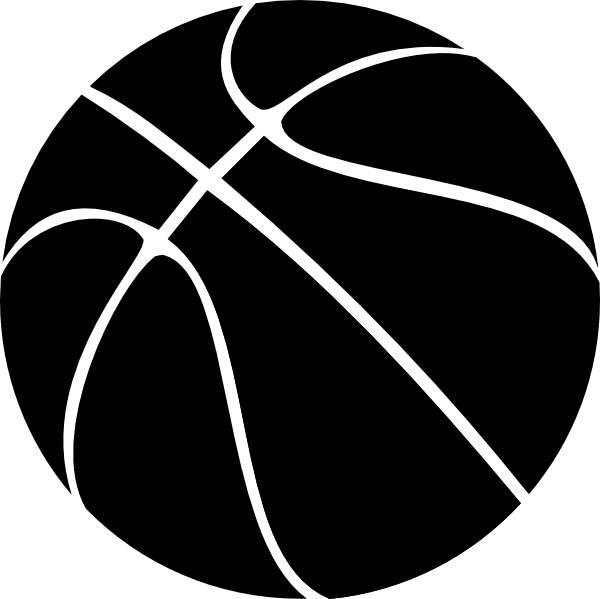 Basketball Clipart Free u0026middot; Black Basketball