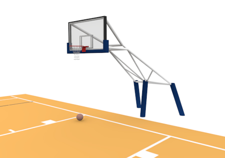 Basketball Court Clip Art Free Material