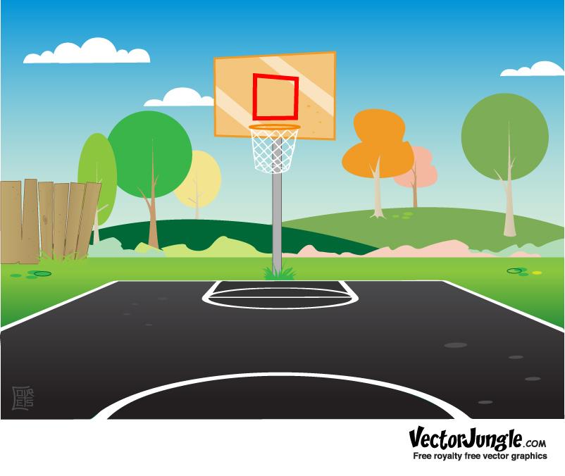 basketball court clipart 2 .