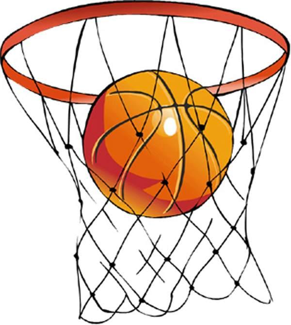 Basketball Court Clipart .
