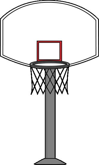 Basketball Goal Clip Art ..-Basketball Goal Clip Art ..-6