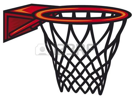 basketball hoop: Basketball hoop. Vector illustration.