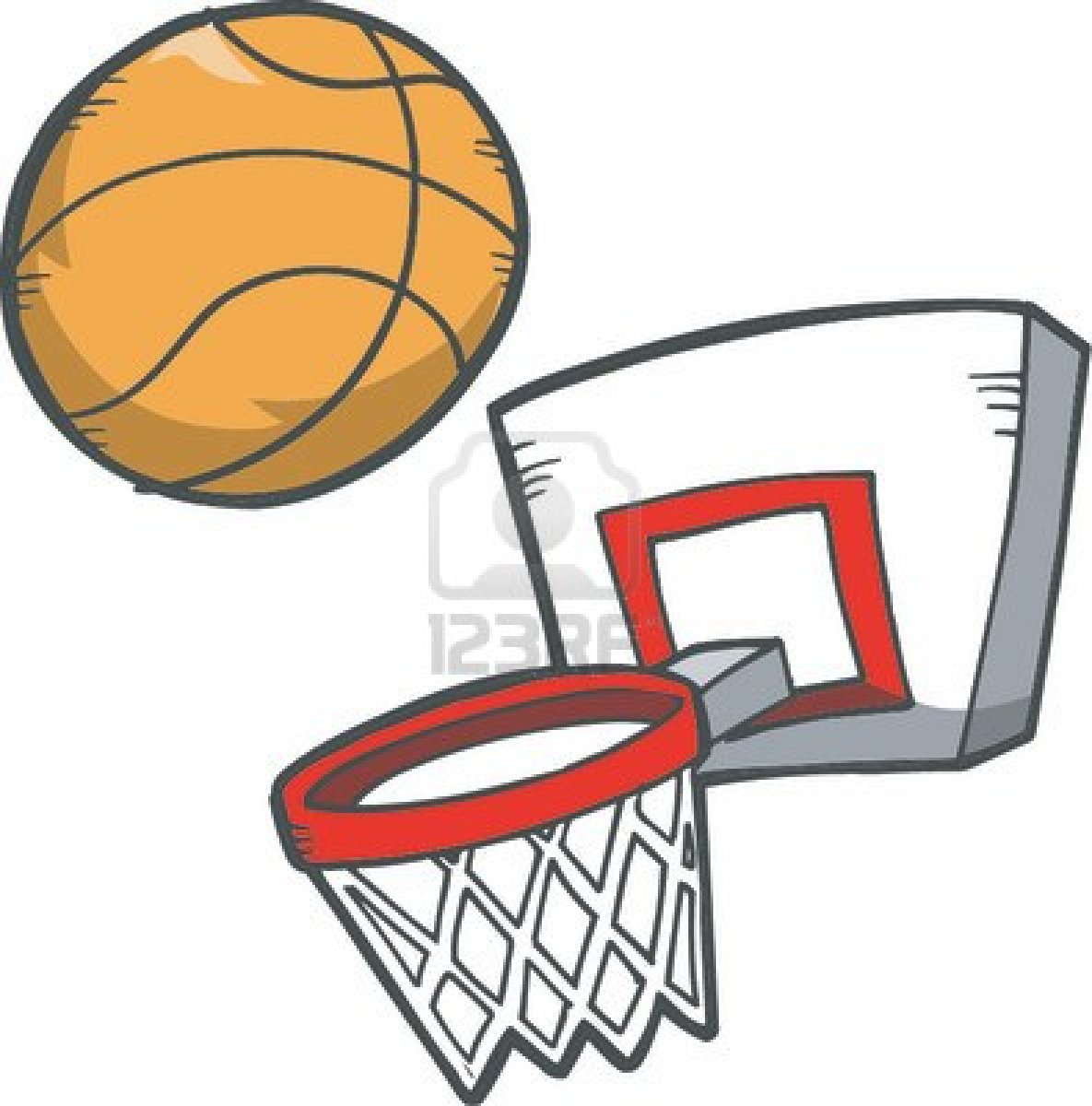 basketball hoop clipart. Basket Ball Clip Art | School Clipart