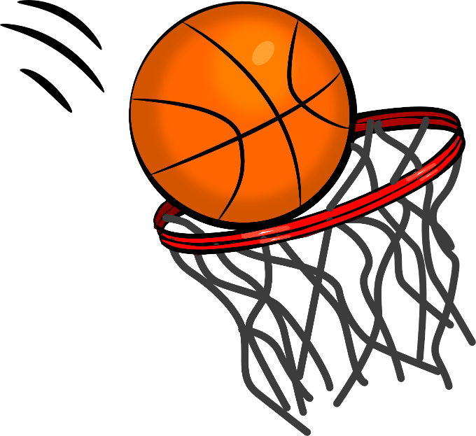 Basketball Hoop Clipart .