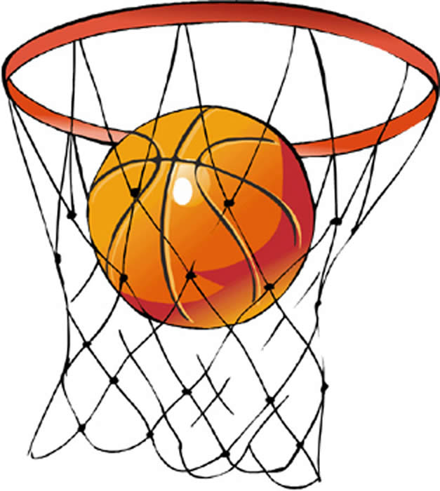 Basketball Hoop Clipart-basketball hoop clipart-1