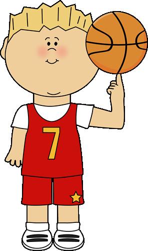 Basketball Player Balancing B - Basketball Player Clip Art