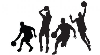 Basketball Player Clip Art; .