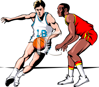 Basketball Player Clipart Cli - Basketball Player Clip Art
