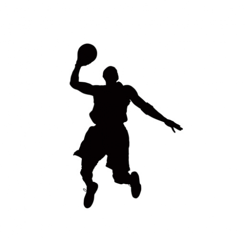 Basketball Players Clipart .