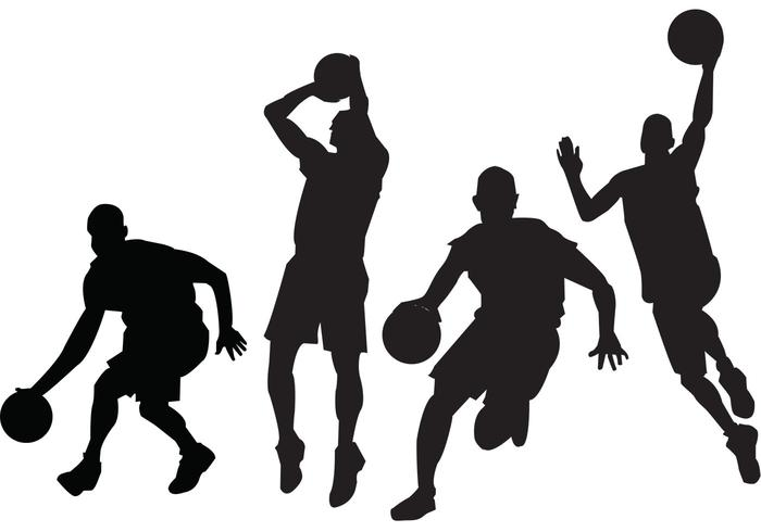 Basketball Players Vectors-Basketball Players Vectors-2
