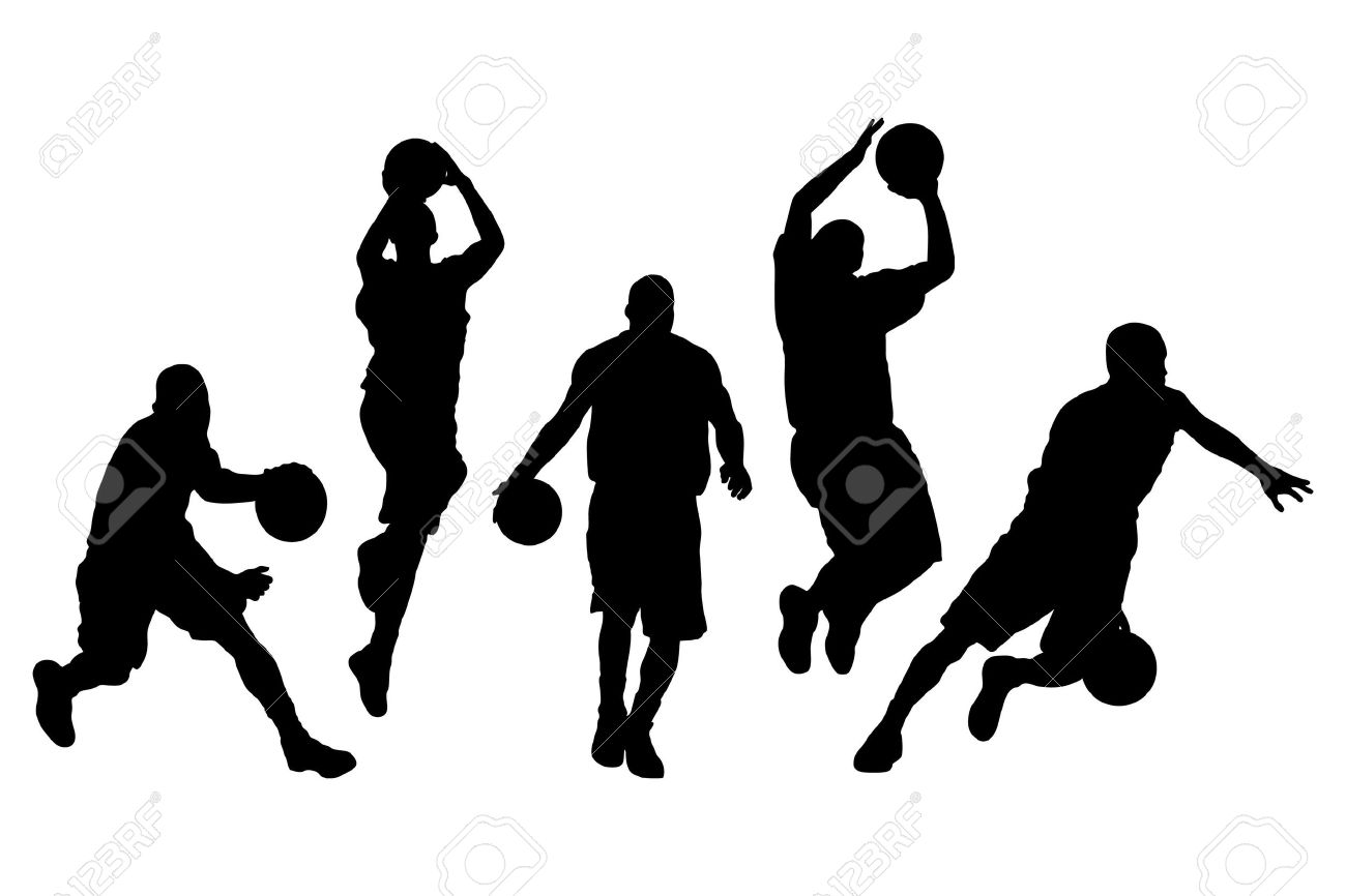 Vector Illustration Of Single Isolated B-Vector illustration of single isolated basketball icon set-20