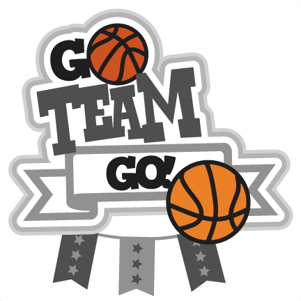 Basketball Team Go Clipart