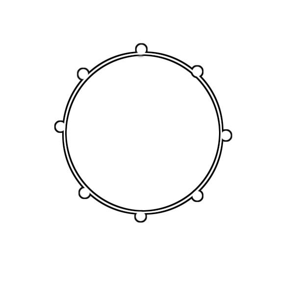 Bass Drum Clip Art-Bass Drum Clip Art-7