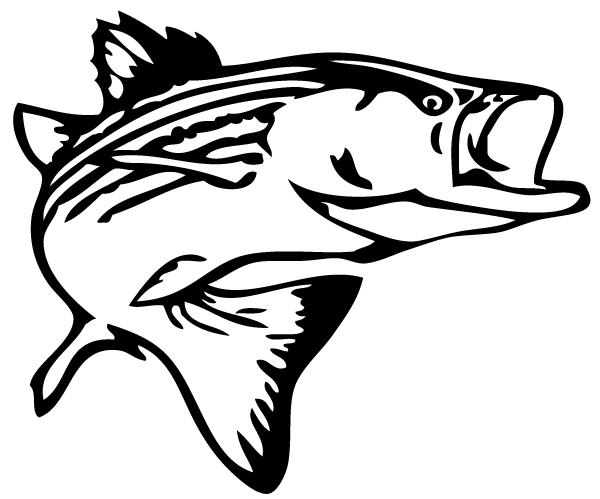 Bass Fish Outline Clip Art Free Clipart -Bass Fish Outline Clip Art Free Clipart Images-4