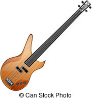 ... bass guitar - bass abstract vector illustration isolated eps... bass guitar Vector Clipartby ...