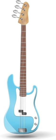 Bass-guitar clip art