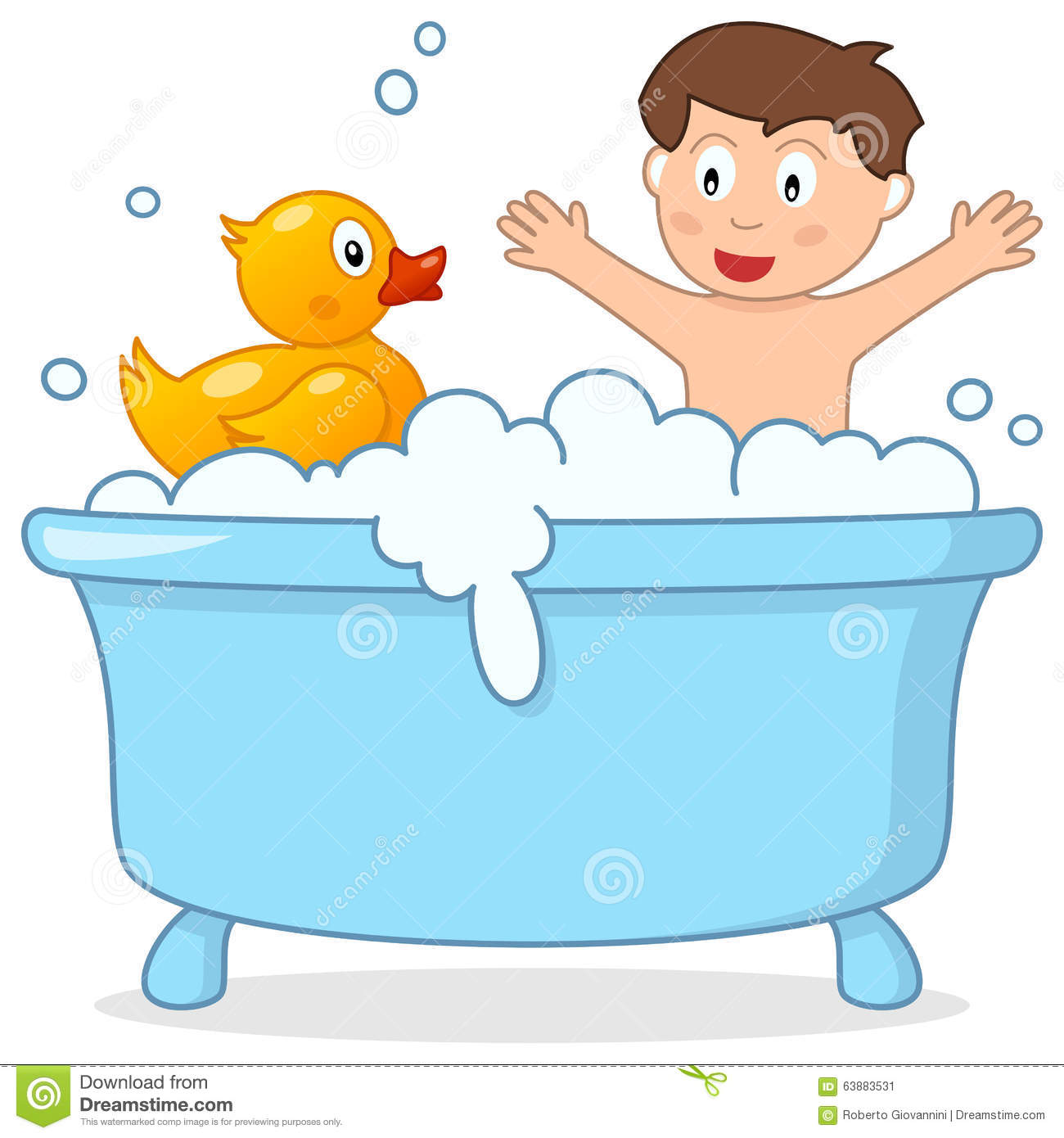 Bath Time Clipart & Look At Clip Art Images