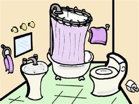 bathroom clipart