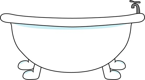Bathroom Bathtub Clipart-Bathroom Bathtub Clipart-13