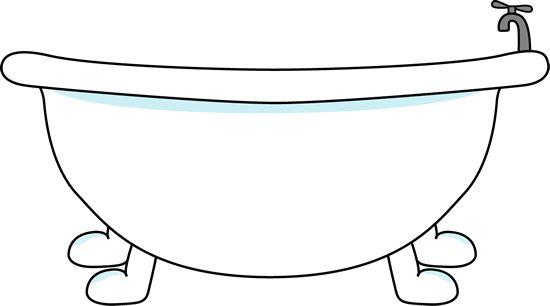 Bathroom Bathtub Clipart