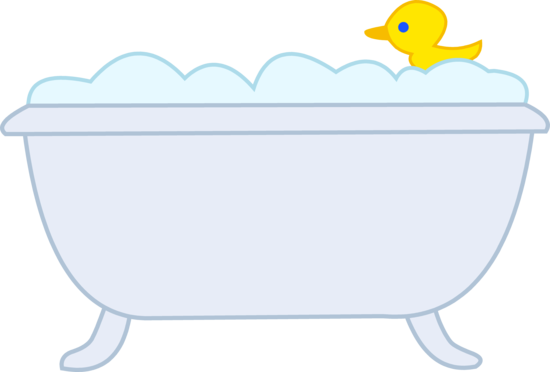 Bathroom Clipart - Bathtub Clip Art