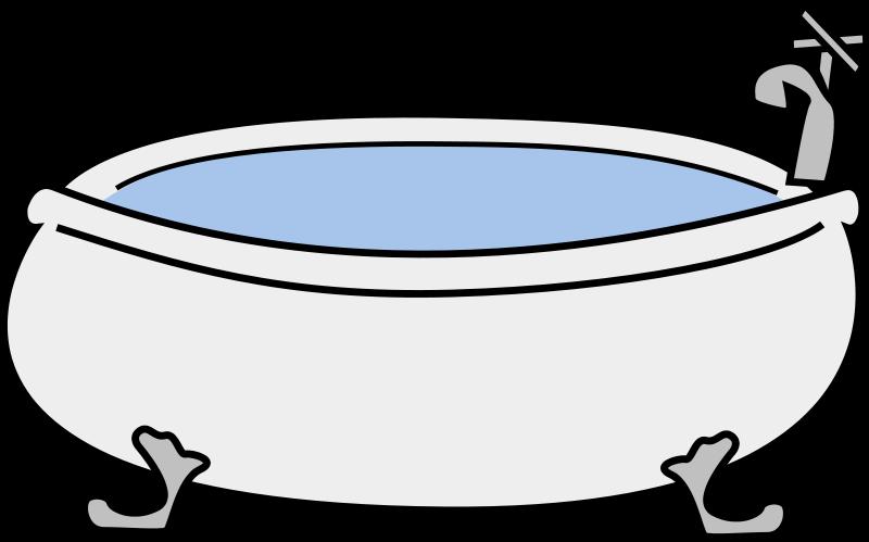 bathtub clipart
