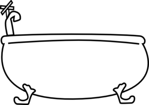 Bathtub Clip Art-Bathtub Clip Art-7
