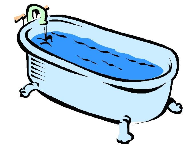 Bathtub clipart bath clipart