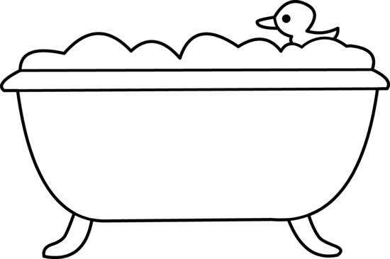 Bathtub cliparts-Bathtub cliparts-17