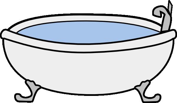 Bathtub cliparts